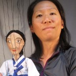 Puppet created by Bonnie at Puppets in Prague Workshop 2013