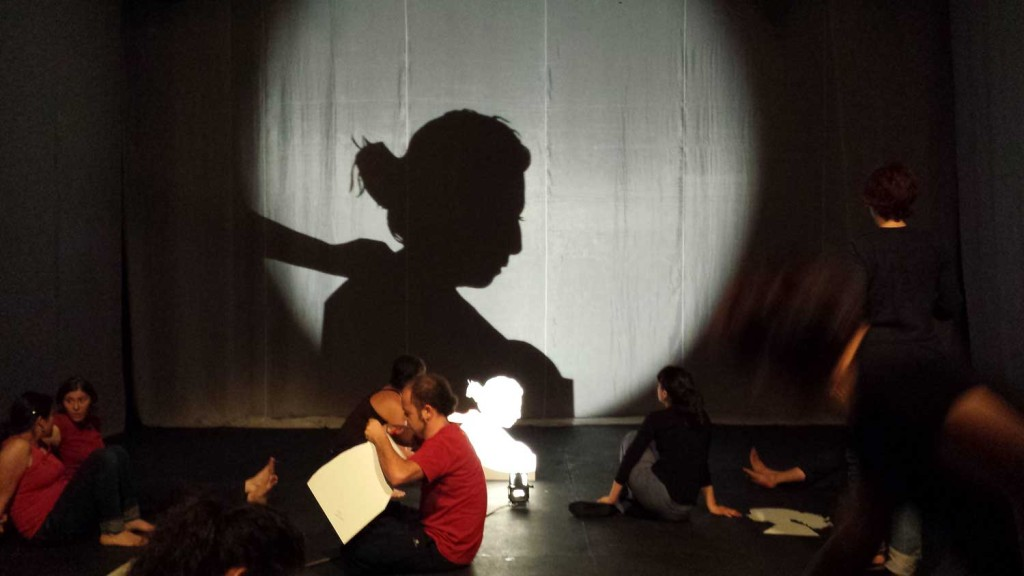 During individual exploration of shadow, we created own silhouette to experiment.