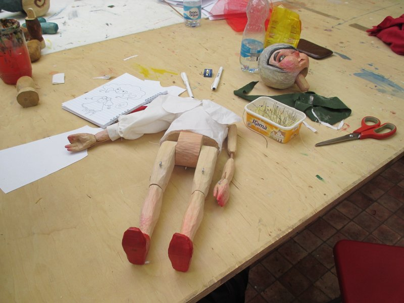 Puppets in Prague workshop 2013-costume