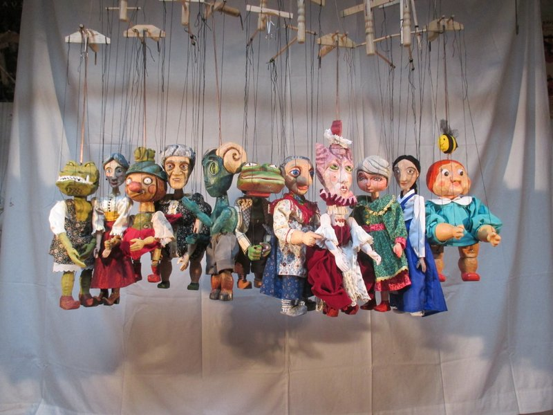 Puppets in Prague workshop 2013 participant puppets