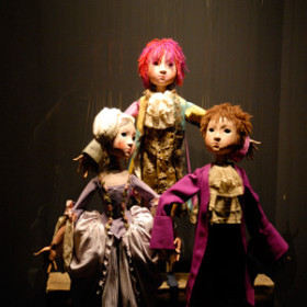 from Francisco Peralta's Puppet Collection Exhibit in Segovia, Spain, 2014.